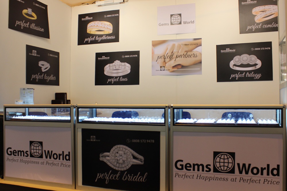 Gems World Jewellery & Watch Birmingham, UK